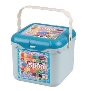 アクアビーズ AQ-S63 5000ビーズバケツセット  おもちゃ こども 子供 女の子 ままごと ごっこ 作る 6歳