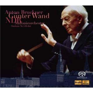 北ドイツ放送交響楽団/ヴァント(指揮)<SACD>/ブルックナー : 交響曲 第5番 変ロ長調 WAB 105 (原典版) 【CD】|esdigital