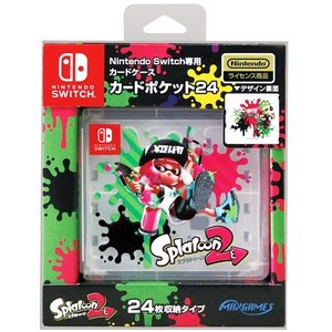 Switch Nintendo Switch専用カードポケット24 スプラトゥーン2|esdigital