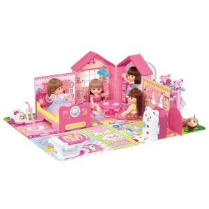 メルちゃん みんなおいでよ! なかよしハウス  おもちゃ こども 子供 女の子 人形遊び 小物 クリスマス プレゼント 3歳|esdigital
