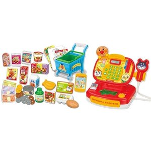 アンパンマン ピピッとおかいもの!アンパンマンレジスターDX  おもちゃ こども 子供 女の子 ままごと ごっこ クリスマス プレゼント 1歳6ヶ月|esdigital
