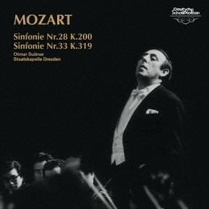 オトマール・スウィトナー/モーツァルト:交響曲第28番・第33番 【CD】|esdigital