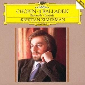 クリスチャン・ツィメルマン/ショパン:4つのバラ...の商品画像