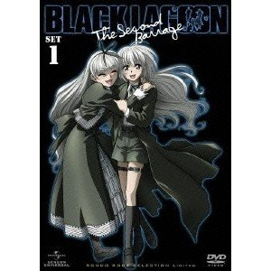BLACK LAGOON The Second Barrage DVD_SET1 【DVD】