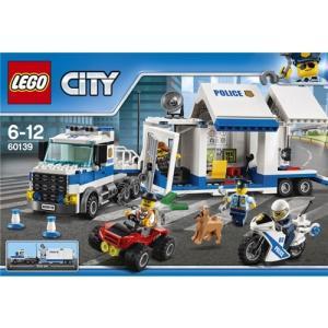 LEGO 60139 シティ ポリストラック司令本部 おもちゃ こども 子供 レゴ ブロック 6歳 ハピネットオンラインPayPayモール
