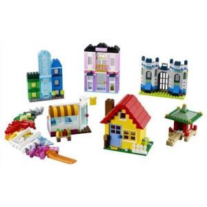 LEGO 10703 クラシック アイデアパーツ 建物セット  おもちゃ こども 子供 レゴ ブロック クリスマス プレゼント 4歳|esdigital