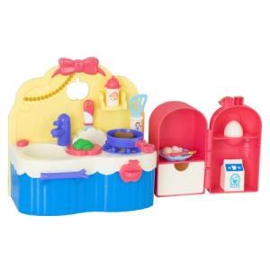 ずっとぎゅっと レミン&ソラン しらゆきひめ あそびたっぷりキッチン  おもちゃ こども 子供 女の子 人形遊び 家具 3歳|esdigital