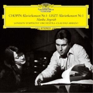 マルタ・アルゲリッチ/ショパン&リスト:ピアノ協奏曲第1番 (初回限定) 【CD】
