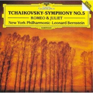 レナード・バーンスタイン/チャイコフスキー:交響曲第5番 幻想序曲≪ロメオとジュリエット≫ (初回限...