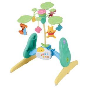 くまのプーさん えらべる回転6WAYジムにへんしんメリー おもちゃ こども 子供 知育 勉強 ベビー...