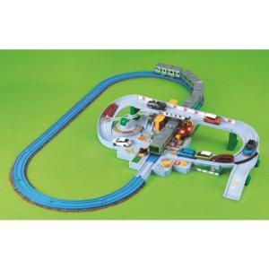種別:おもちゃ 発売日:2018/08/02 説明:電車が近づいてくるワクワク!車が踏切を渡るどきど...