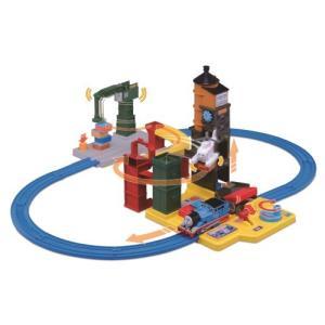 プラレール キャラアクション!きかんしゃトーマス チャレンジ!ソドー島  おもちゃ こども 子供 男の子 電車 3歳|esdigital