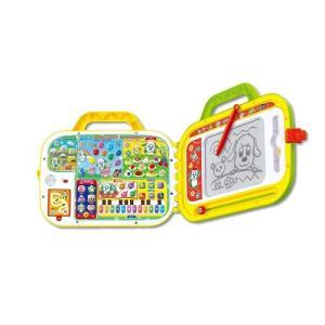 いないいないばあっ! クイズにおえかき!ミュージック!タッチでおしゃべりレッスンバッグ  おもちゃ こども 子供 知育 勉強 1歳6ヶ月|esdigital