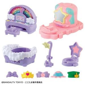 キラキラハッピー★ ひらけ!ここたま しかけいっぱい!家具セット  おもちゃ こども 子供 女の子 クリスマス プレゼント 3歳|esdigital