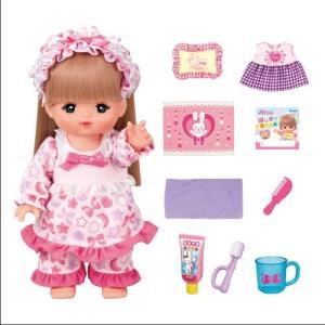 メルちゃん ロングヘアメルちゃん いっしょにおやすみセット  おもちゃ こども 子供 女の子 人形遊び クリスマス プレゼント 3歳|esdigital