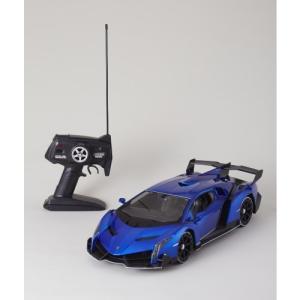 1/10 RC Lamborghini Veneno BLUE CAELUM  おもちゃ こども 子供 ラジコン 15歳
