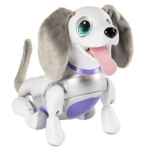オムニボット ハロー!ズーマー ミニチュアダックス ホワイト  おもちゃ こども 子供 女の子 人形遊び 6歳