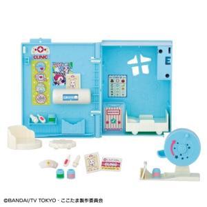 種別:おもちゃ 発売日:2019/02/16 説明:カギで開くと、本がクリニックに大変身! 診察・治...