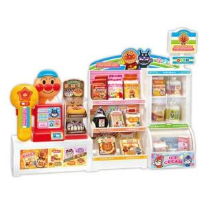いらっしゃいませ!アンパンマンコンビニ おもちゃ こども 子供 女の子 ままごと ごっこ 3歳