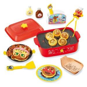 アンパンマン たこやきノリノリ♪パーティしちゃお♪おしゃべりホットプレート おもちゃ こども 子供 知育 勉強 3歳 esdigital