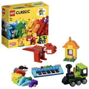 レゴ クラシック アイデアパーツ<Sサイズ> 11001 おもちゃ こども 子供 レゴ ブロック 4歳 LEGO|esdigital