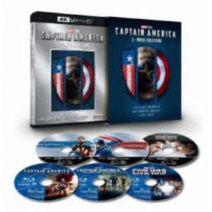 キャプテン・アメリカ:3ムービー・コレクション UltraHD (初回限定) 【Blu-ray】