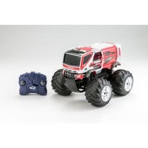 Wドライブプラス モリタ 林野火災用消防車コンセプトカー おもちゃ こども 子供 ラジコン 6歳