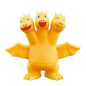 ちびムービーモンスターシリーズ ちびギドラ おもちゃ こども 子供 3歳 ゴジラ