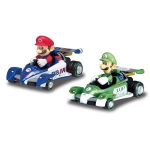 ラッピング対応可◆マリオカート プルバックマリオ&ルイージ おもちゃ こども 子供 ラジコン スーパーマリオブラザーズ