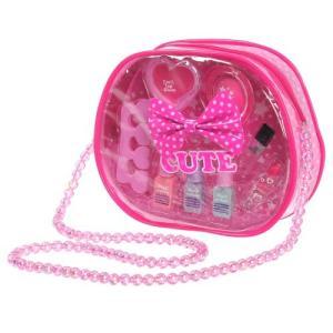種別:おもちゃ 発売日:2013/03/30 説明:長いベルトのバッグに入ったお洒落なコスメセットで...