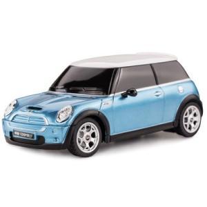 1/24sc MINI COOPER S (ブルー) おもちゃ こども 子供 ラジコン 6歳