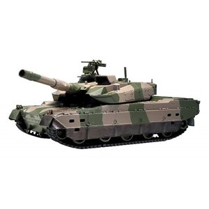BB弾バトルタンク ウェザリング仕様 陸上自衛隊10式戦車 おもちゃ こども 子供 ラジコン 10歳