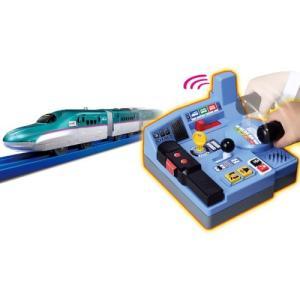 ラッピング対応可◆プラレール 乗車確認!出発進行!まるごと鉄道体験!E5系はやぶさコントロールセット...