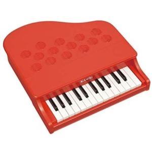 KAWAI ミニピアノP-25 ポピーレッド おもちゃ こども 子供 知育 勉強