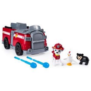 ラッピング対応可◆パウ・パトロール レスキュープレイセット マーシャル ファイヤートラック おもちゃ...