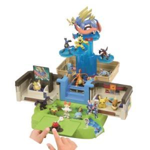 モンコレ レッツゴー!サクラギ研究所おもちゃ こども 子供 男の子 4歳 ポケモン