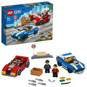 レゴ シティ ポリス ハイウェイの逮捕劇 60242 おもちゃ こども 子供 レゴ ブロック 5歳