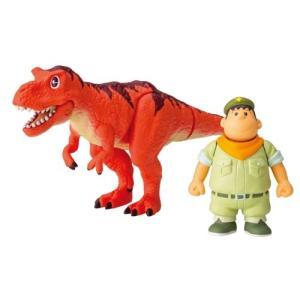 アニア「映画ドラえもん のび太の新恐竜」ジャイアン&ゴル(タルボサウルス)おもちゃ こども 子供 男...