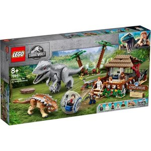 LEGO レゴ ジュラシックワールド インドミナス・レックス vs. アンキロサウルス 75941おもちゃ こども 子供 レゴ ブロック ハピネットオンラインPayPayモール