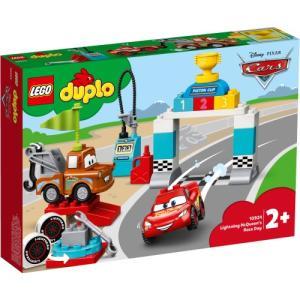 LEGO レゴ デュプロ ライトニング・マックィーンのレースの日 10924おもちゃ こども 子供 レゴ ブロック ハピネットオンラインPayPayモール