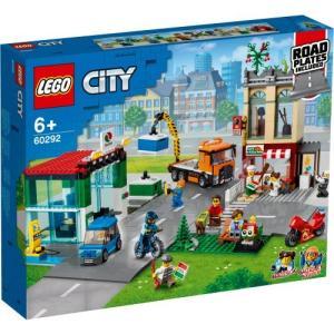 LEGO レゴ シティ レゴシティのタウンセンター ロードプレート付 60292おもちゃ こども 子供 レゴ ブロック 6歳 ハピネットオンラインPayPayモール