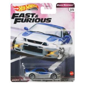 ホットウィール Nissan Skyline GT-R (BCNR33)おもちゃ こども 子供 男の...