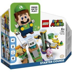 LEGO レゴ スーパーマリオ  ルイージとぼうけんのはじまり 〜スターターセットおもちゃ こども 子供 レゴ ブロック 6歳 スーパーマリオブラザーズ ハピネットオンラインPayPayモール