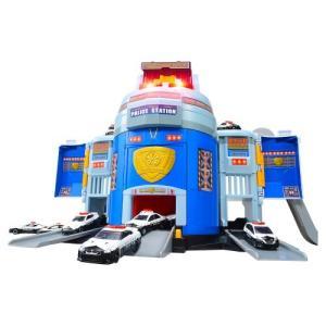 トミカ ぐるっと変形! DXポリスステーションおもちゃ こども 子供 男の子 ミニカー 車 くるま 3歳 ハピネットオンラインPayPayモール