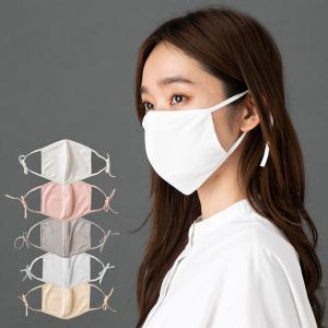 紐までシルク シルク100% 美容マスク 正絹110gスムー...