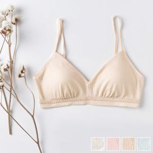 シルク ブラジャー ノンワイヤー シルク100% テレコ ソフトブラ 日本製 敏感肌  冷えとり 吸汗速乾|eses