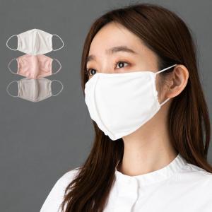 シルク100% マスク カバーとしても使える2wayタイプ 正絹110gスムース 日本製 ポケット付き ホワイト 白 グレー eses