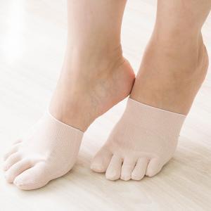 シルク つま先 5本指ソックス インナーソックス シルク靴下 5本指靴下 重ね履き 冷えとり ナノ化銀で抗菌消臭 日本製 eses