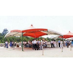 大型テント ビッグパワーテント 10m×10m 大型イベントや催しに最適 矢野テント製 送料無料|esheetpro