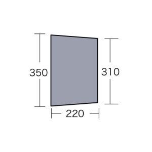 テント備品 マルチシート パラディオ56用 CAMPAL JAPAN 小川キャンパル アウトドア キャンプ用品|esheetpro